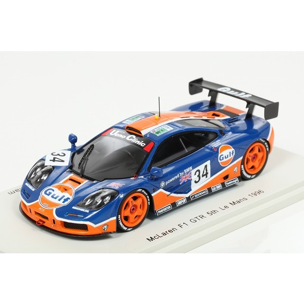 【スパーク】 1/43 McLaren F1 GTR No.34 5th Le Mans 1996 P.-H. Raphanel - L. Owen-Jones - D. Brabham