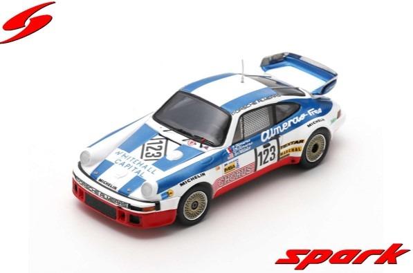 Spark 1/43 Porsche 930 No.123 24H Le Mans 1984 J-M. Almeras - J. Almeras - T. Winters