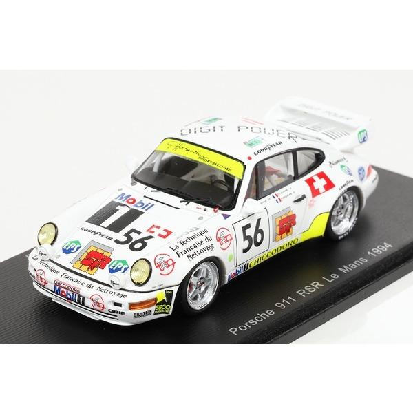【スパーク】 1/43 ポルシェ 911 ターボ 1994 ルマン24H #56 O.Haberthur / P.Goueslard / P.Vuillaume