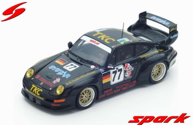 spark 1/43 PORSCHE 911 GT2 N.77 LE MANS 1996 - T. SUZUKI - G. KUSTER - M. JURASZ