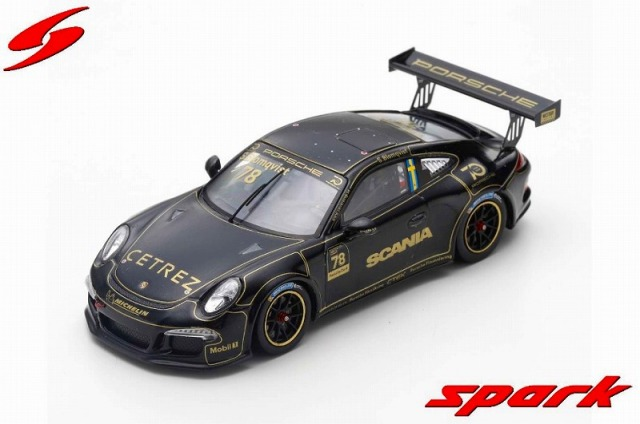 Spark 1/43 Porsche Carrera Cup Scandinavia #78 Tribute to Ronnie Peterson at Anderstorp 2018 Stig Blomqvist