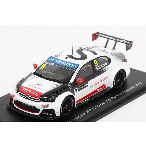 【スパーク】 1/43 Citroen C-Elysee WTCC n.9 Winner R2 Race of Argentina