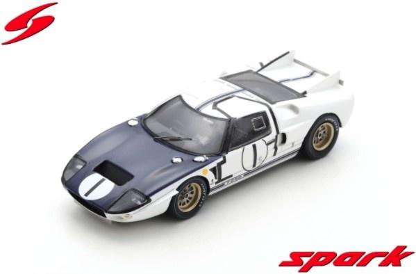 Spark 1/43 Ford GT40 MK2 No.1 24H Le Mans 1965 K. Miles - B. McLaren