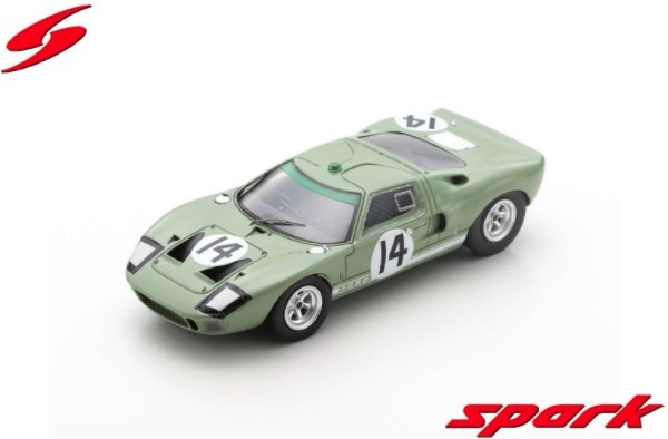 Spark 1/43 Ford GT40 No.14 24H Le Mans 1965 J. Whitmore - I. Ireland