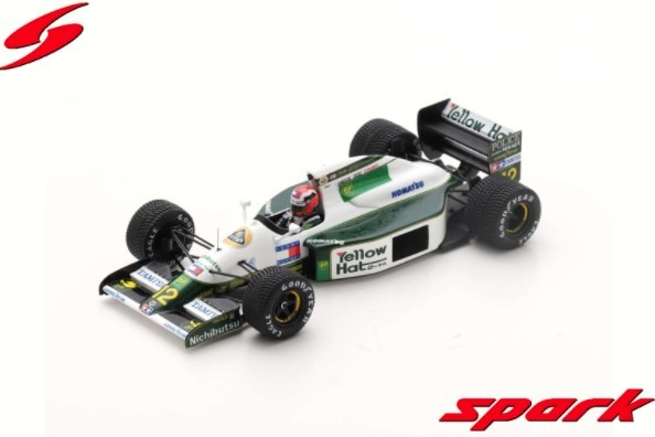Spark 1/43 Lotus 102B No.12 Australian GP 1991 Johnny Herbert