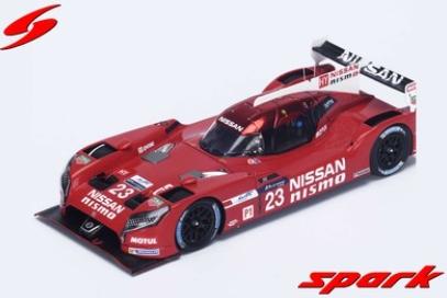 spark 1/43 Nissan GT-R LM Nismo n.23 LMP1 - Nissan Motorsports - Le Mans 2015 - O. Pla - J. Mardenborough - M. Chilton