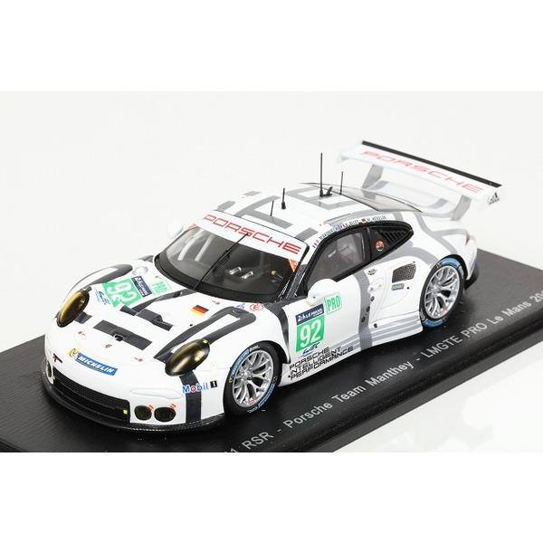 【スパーク】 1/43 Porsche 911 RSR Porsche Team Manthey LMGTE PRO LM 2015