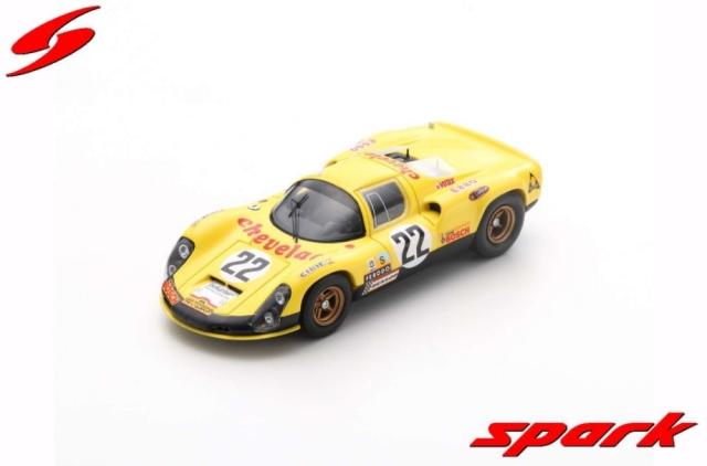 spark 1/43 Porsche 910 No.22 24H Le Mans 1973 R. Touroul - J-P. Rouget