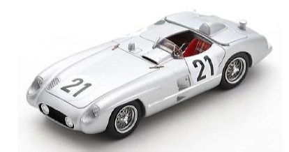 Spark 1/43 Mercedes-Benz 300 SLR No.21 24H Le Mans 1955 K. Kling - A. Simon