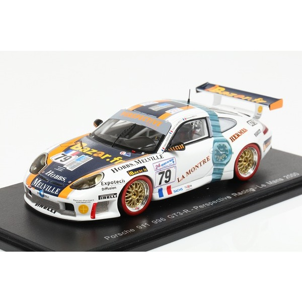 【スパーク】 1/43 Porsche 996 GT3 R No.79 Le Mans 2000 J.-L.Ricci-R.Ricci-T. Perrier