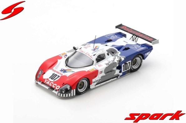 Spark 1/43 Spice SE 88C No.107 24H Le Mans 1988  J-L. Ricci - C. Ballot-Lena - J-C. Andruet