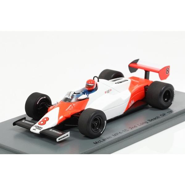 【スパーク】 1/43 McLaren MP4/1C No.8 2nd Long Beach GP 1983  Niki Lauda