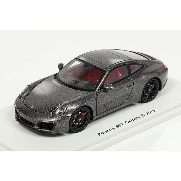 【スパーク】 1/43 Porsche 991 phase 2 2016 (Grey)
