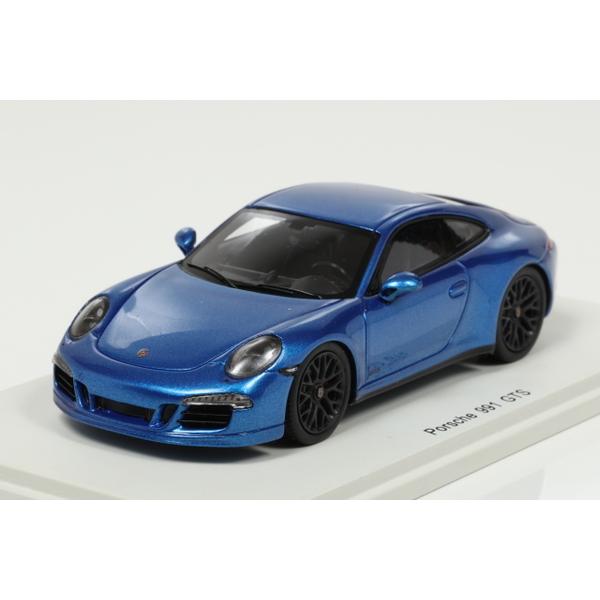 【スパーク】 1/43 Porsche 991 GTS 2015 (Blue)