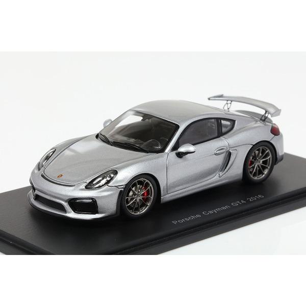 【スパーク】 1/43 Porsche Cayman GT4 2016