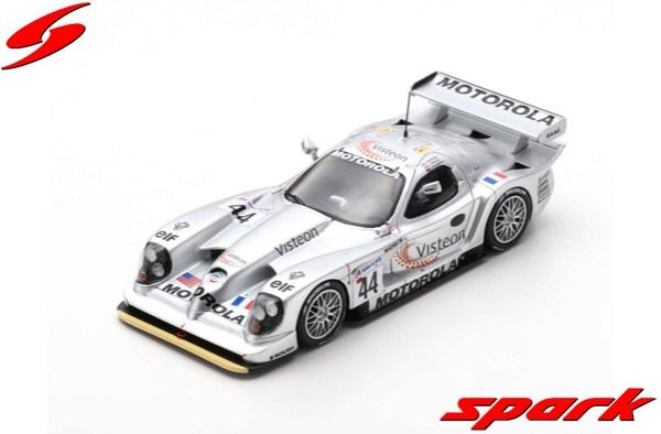 Spark 1/43 Panoz Esperante GTR-1 No.44 Panoz Motorsports Inc. 24H Le Mans 1998