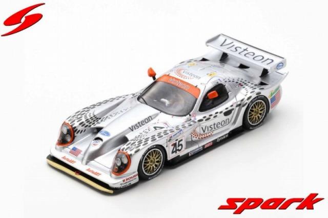 Spark 1/43 Panoz Esperante GTR-1 No.45 Panoz Motorsports Inc. 24H Le Mans 1998