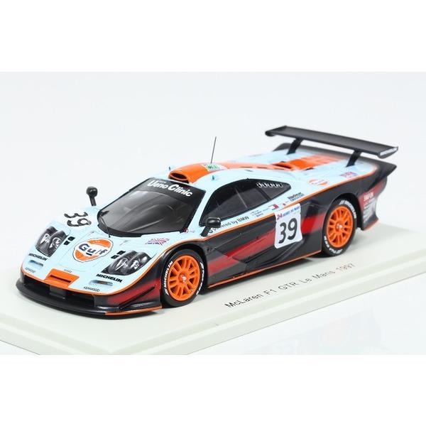 【スパーク】 1/43 McLaren F1 GTR Le Mans 1997 R.Bellm - A.Gilbert-Scott - M.Sekiya #39