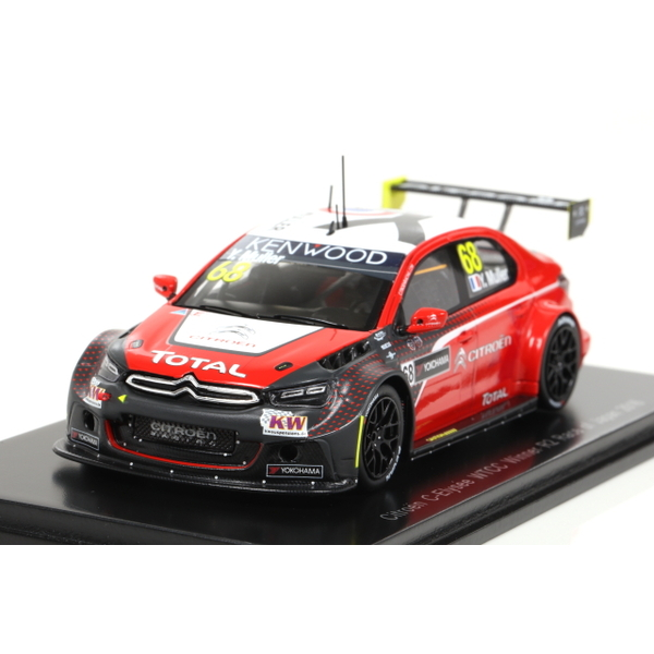 【Spark】 1/43 Citroen C-Elysee WTCC Winner R2 Race of Japan 2016 Yvan Muller #68