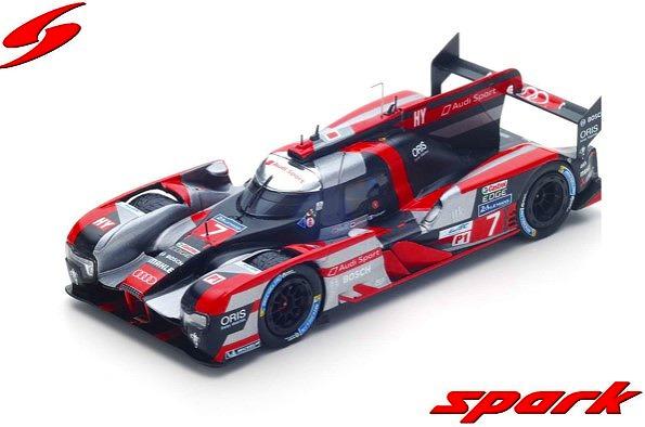 Spark 1/43 Audi R18 HY No.7 Audi Sport Team Joest 4th 24H Le Mans 2016