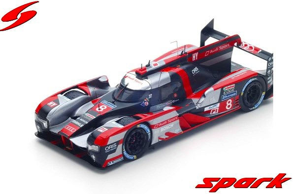 Spark 1/43 Audi R18 HY No.8 Audi Sport Team Joest 3rd 24H Le Mans 2016
