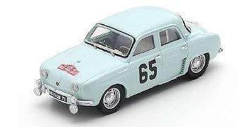 <予約> [Spark] 1/43 Renault Dauphine No.65 Winner Monte-Carlo Rally 1958 J. Feret - G. Monraisse