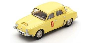 <予約> [Spark] 1/43 Renault Dauphine No.9 Winner Tour de Corse 1956 Miss G. Thirion - N. Ferrier