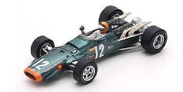 <予約> [Spark] 1/43 BRM P126 No.12 Race of Champions 1968 Mike Spence