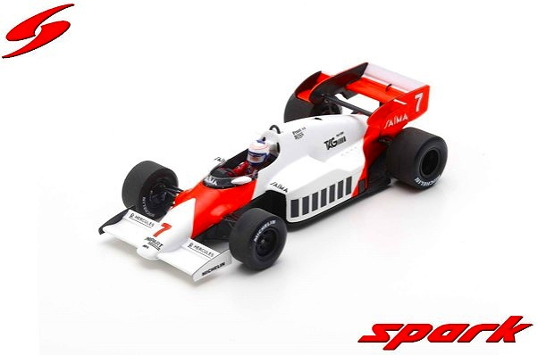 Spark 1/43 McLaren MP4-2 No.7 Winner German GP 1984 Alain Prost