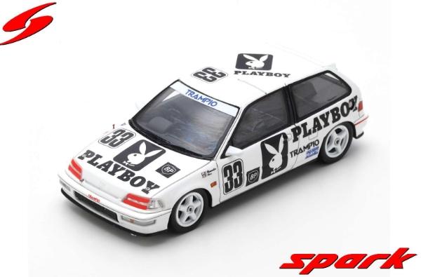 spark 1/43 HONDA CIVIC EF9 NO.33 AJTCC AUTOPOLIS 1991 Y. MURAMATSU - T. HARA
