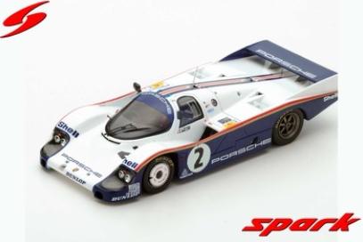 spark 1/43 Porsche 956 n.2 Le Mans 1983 J. Mass - S. Bellof
