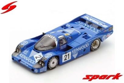 spark 1/43 Porsche 956 No.21 3rd Le Mans 1983 M. Andretti - M. Andretti - P. Alliot