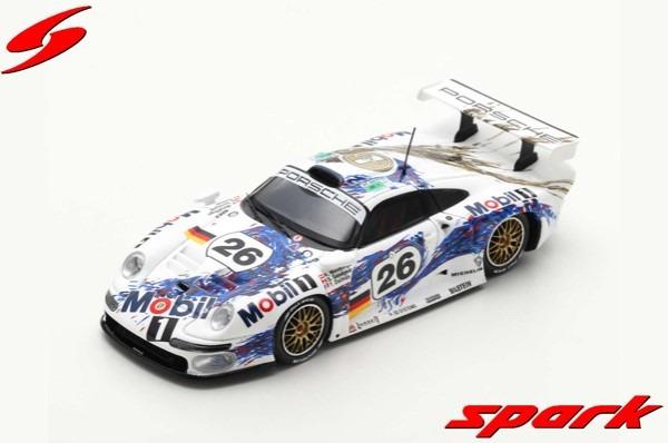 Spark 1/43 Porsche 911 GT1 No.26 Porsche AG 3rd 24H Le Mans 1996 Y. Dalmas - K. Wendlinger - S. Goodyear