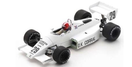 <予約 2021/5月発売予定> Spark 1/43 Arrows A6 No.29 French GP 1983 Marc Surer