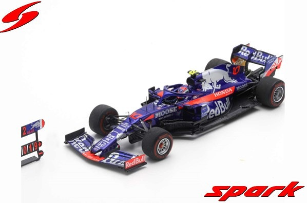 Spark 1/43 Red Bull Toro Rosso Honda No.10 2nd Brazillian GP 2019 STR14 Pierre Gasly
