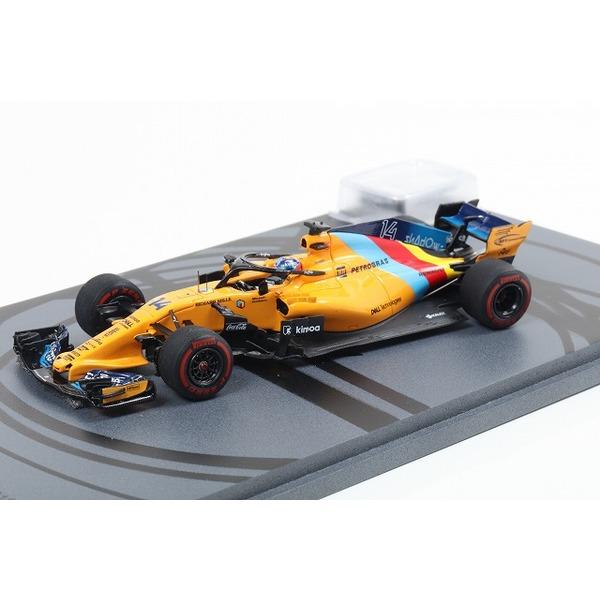 【スパーク】 1/43 McLaren F1 Team No.14 Abu Dhabi GP 2018 - McLaren MCL33 Last Race Fernando Alonso