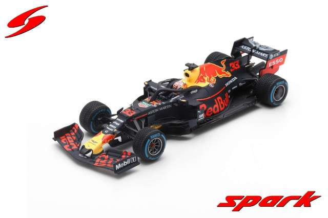 Spark 1/43 Aston Martin Red Bull Racing No.33 Winner German GP 2019  RB15 Max Verstappen