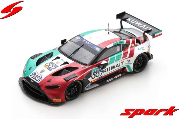 Spark 1/43 Aston Martin Vantage GT3 No.007 FIA Motorsport Games GT Cup Vallelunga 2019