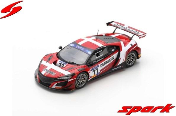 Spark 1/43 Honda NSX GT3 No.11 FIA Motorsport Games GT Cup Vallelunga 2019 J. R. Moller - C. Nielsen