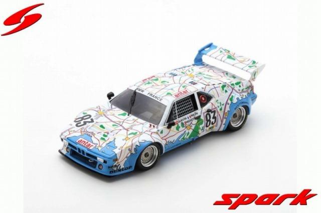 Spark 1/43 BMW M1 No.83 24H Le Mans 1980 D. Pironi - D. Quester - M. Mignot