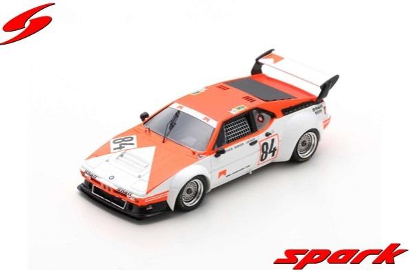 Spark 1/43 BMW M1 No.84 24H Le Mans 1980 H-J. Stuck - D. Lacaud - H-G. Burger
