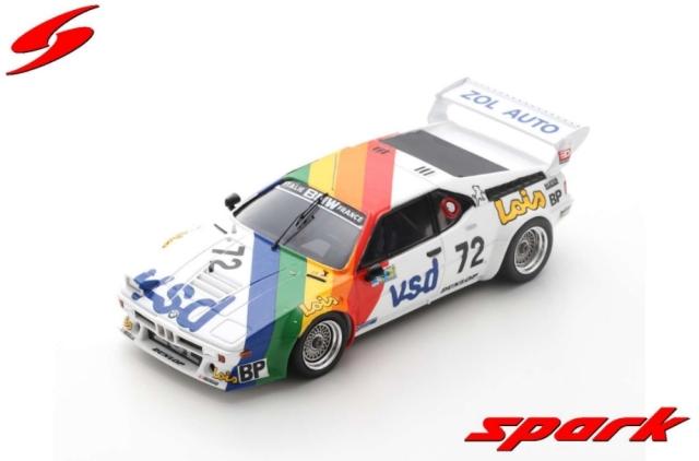 spark 1/43 BMW M1 No.72 24H Le Mans 1981 P-F. Rousselot - F. S?rvanin - L. Ferrier