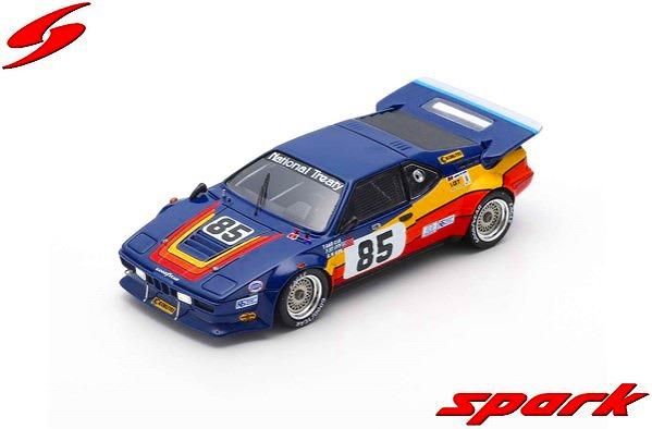 [Spark] 1/43 BMW M1 No.85 24H Le Mans 1982 T. Garcia - F. Stiff - A. Naon