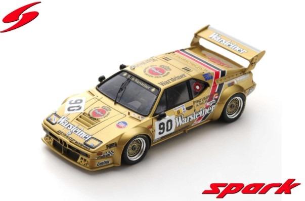 Spark 1/43 BMW M1 No.90 24H Le Mans 1983 A. Pallavicini - J. Winther - L. von Bayern