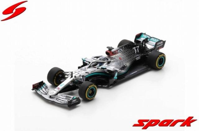 Spark 1/43 Mercedes-AMG F1 W11 EQ Performance No.77 Barcelona Test 2020 Valtteri Bottas