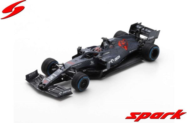 Spark 1/43 Alfa Romeo Racing ORLEN C39 No.7  Fiorano Circuit Shakedown 2020 Kimi Raikkonen