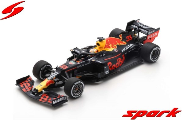 Spark 1/43 Aston Martin Red Bull Racing RB16 No.33 Red Bull Racing Barcelona Test 2020 Max Verstappen
