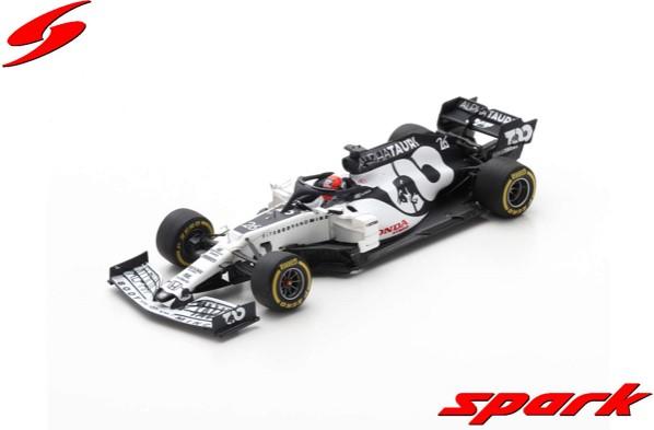 Spark 1/43 AlphaTauri AT01 No.26 Scuderia AlphaTauri F1 Team Barcelona Test 2020 Daniil Kvyat
