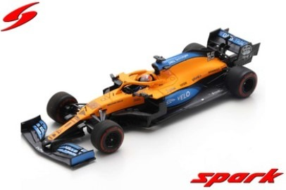 Spark 1/43 McLaren MCL35 No.55 McLaren F1 Team Barcelona Test 2020   Carlos Sainz Jr.