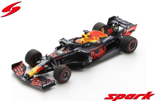 Spark 1/43 Aston Martin Red Bull Racing RB16 No.33 3rd Styrian GP 2020 M.Verstappen